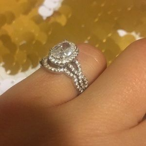 no brand Jewelry - Cubic zirconia and silver ring